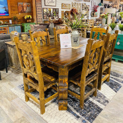 Yugo Dining Table And 6 Chairs